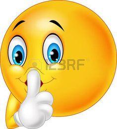 Illustration about Illustration of Emoticon happy making silence sign on white background. Illustration of finger, silence, hush - 60517980 Smiley Emoji, Images Emoji, Emoji Pictures, Symbols Emoticons, Funny Emoticons, Funny Emoji Faces, Emoticon Faces, Love Smiley, Emoji Love