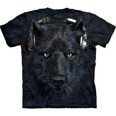 The Mountain Wolf T-shirt | DJ Night