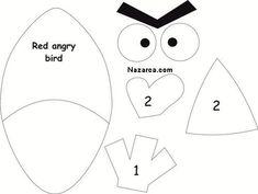 Sevimli Kuş Angry Bird hayranı çocuklar için Angry Bird oyuncak nasıl dikilir anneler için. Polar kumaş ile yumuşak puf içi doldurulan sevimli oyuncaklar. İsteyenler bu güzel el yapımı oyuncağı keç…