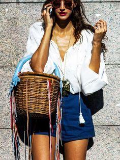 357346fd54f7f The Fashion Girl s Summer Wardrobe Checklist Verão Europeu