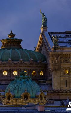 Opéra Garnier, Paris, France ~ Via Kathleen Troeller  http://www.flickr.com/photos/anto13/11583398165/
