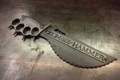 Custom Made Zombie Servival Weapons | Zombie Hammer Survival Weapons Make For Perfect Christmas Gifts ...