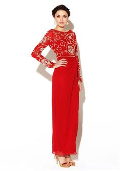 Virgos Lounge Jean Red Dress available Instore & Online shop online at www.mcelhinneys.com