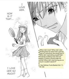 Kyo❤Tohru for life! - Fruits Basket - Shoujo manga - young love that lasted forever!