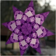 waldorf star purple