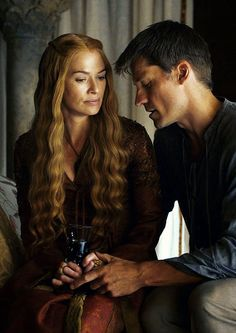 Game of Thrones - Cersei Lannister & Jaime Lannister After Robb and Talisa, they're my favorite couple, I kinda ship them.. Besides the fact they're twins, of course