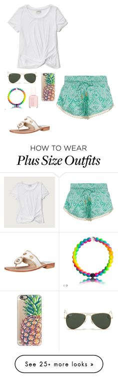 """Hailey's contest"" by eadurbala08 on Polyvore featuring Paloma Blue, Casetify, Abercrombie & Fitch, Ray-Ban, Essie, Jack Rogers, Spring, contest, springcontest and springflinghh12"