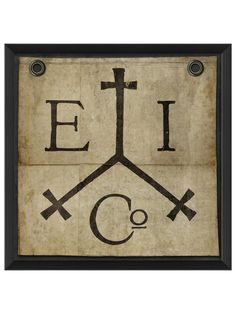 East India Trading Company Flag by The Artwork Factory at Gilt