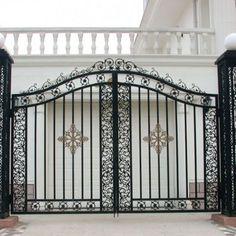 ferforje bahçe kapıları-12