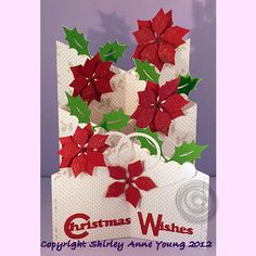 Christmas Cascading card