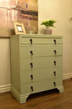 Early 20th Century oak drawers Reloved by Jo Harrison Stylist