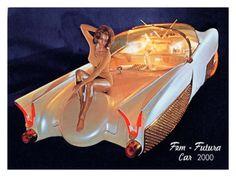 Fem Futura Car 2000 Giclee Print