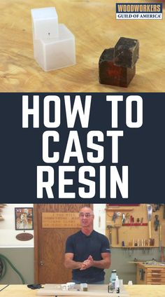 """Have you ever wondered how to cast resin? This is a great way to extend your woodworking skills into another area, as once you know how to cast resin you can incorporate casting resin into a woodworking project, such as the infamous """"River Table"""" design, Learn Woodworking, Woodworking Skills, Easy Woodworking Projects, Popular Woodworking, Woodworking Furniture, Custom Woodworking, Woodworking Plans, Woodworking Machinery, Woodworking Supplies"""