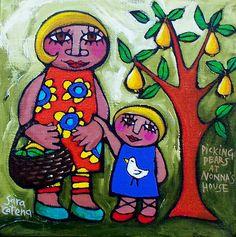 ChicheMetralla » Blog Archive » Sara Catena. Viernes de color.