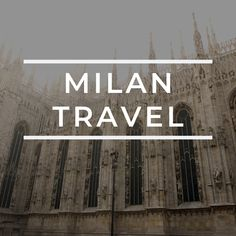 Tips and sight seeing related to travel in Milan Italy. Milan Italy Travel, Italy Travel Tips, Cities In Italy, Amazing Photography, Things To Do, Castle, Hacks, Explore, Adventure