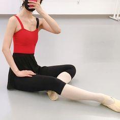 Ballet Leotards, Ballet Dance, Ballet Skirt, Adult Ballet Class, Red Leotard, Pilates Fitness, Ballet Clothes, Fitness Clothing, Dance Wear