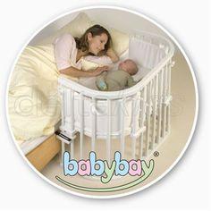 Babybay Original - Buche weiss - mit Nestchen und Matratze