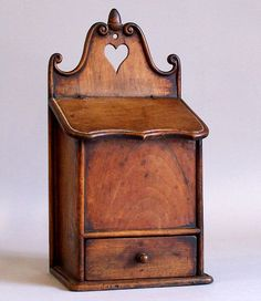 antique boxes | HOME DECOR – IDEAS – Antique French Walnut Spice Box c1800