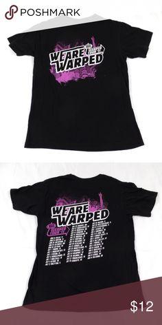 bad571550be Warped Tour 2011 Concert Tour Shirt Concert tour shirt from Vans Warped Tour  2011. Front