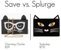 Save vs. Splurge: Yazbukey cat clutch