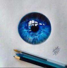 In credible eye art found on tumbler