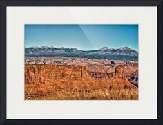 """""""View from Dead Horse Point"""" by Beautifully Scene Images, Grafton // View from Dead Horse Point at Dead Horse Point State Park, Utah. // Imagekind.com -- Buy stunning fine art prints, framed prints and canvas prints directly from independent working artists and photographers."""