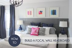 How to build a focal wall headboard