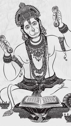 Doodle Art Drawing, Mandala Drawing, Art Drawings Sketches, Drawing Pics, Shiva Art, Krishna Art, Hindu Art, Tanjore Painting, Kalamkari Painting