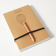 carnet de cuisine, recipe book.   made in France. i want!