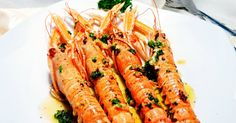 Cigalas a la plancha con aderezo de coñac, cigalas, recetas de marisco, recetas sencillas, recetas de Navidad, recetas de aperitivos, fotografia, dolorss, blog de cuina