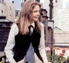 Diane Keaton  (she became a fashion icon after Annie Hall)