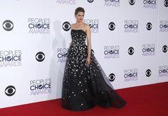 <P>Stana Katic koos voor een galajurk met glitters en een sleep. En die zou ook perfect kunnen op de rode lopers van de Oscars. </P>