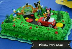 Mickey Mouse & friends at Mickey Park
