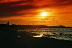 #Władysławowo #beach #pomorskie #pomorze #Poland #Polska #sunset