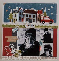 Snowflakes by designer Jennifer Gallacher.