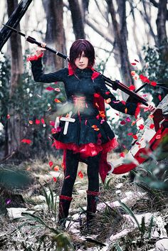 touchinggirls: RWBY Ruby Rose Cosplay by Lulu1355 on Flickr.