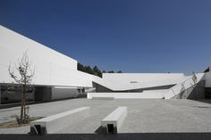 Basic and Secondary School of Sever Do Vouga PEDRO DOMINGOS ARQUITECTOS