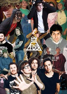 The masters behind it all- Patrick Stump Pete Wentz Joe Trohman Andrew Hurley And the logo FOB