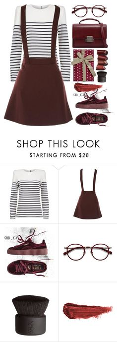 """""""Claudie"""" by thestyleartisan ❤ liked on Polyvore featuring Claudie Pierlot, Puma, EyeBuyDirect.com, NARS Cosmetics, By Terry, Yves Saint Laurent, contestentry and polyPresents"""
