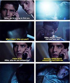 Tyler Posey (Scott McCall) , Daniel Sharman (Isaac Lahey) , & Dylan O'Brien (Stiles Stilinski) - Teen Wolf