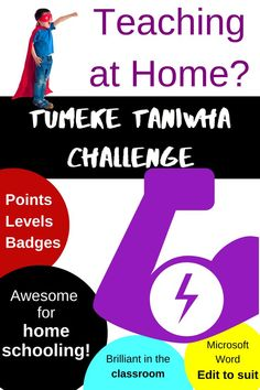 Tumeke Taniwha Challenge - for motivation!