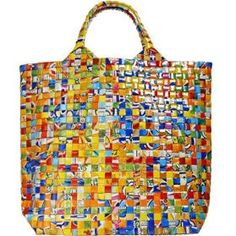 upcycle  plastic bag bag