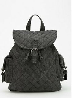 Urban Outfitters Quilted Backpack  35 Denim Backpack 91ea875580