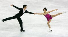 Sui & Han, China, second after pairs short at Skate America 2015