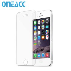 50pcs 0.3mm Premium Tempered Glass Screen Protector For iPhone 5 5S 5c Toughened Protective Film pelicula de vidro for iphone 5s #Affiliate