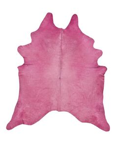 Our dazzling and vivid hot pink dyed cowhide rugs are a perfect accent for the modern home or loft. Individually hand selected for their superior shine and softness, our hides are ensured to be of the