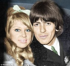 4-George Harrison and Pattie Boyd Photographs,photos,images