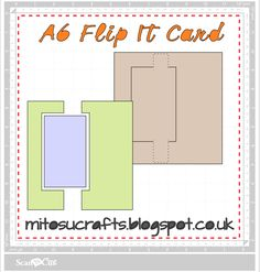Free ScanNCut Files For Flip It Cards