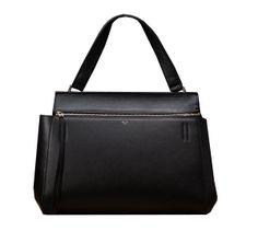 Celine EDGE Bag in Original Leather 3406 Black - $319.00