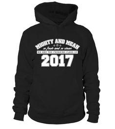 Freaking Class of 2017 Senior High school T-shirt.  #gift #idea #shirt #image #funny #job #new #best #top #hot #high-school